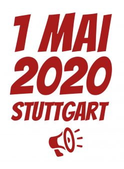 1. Mai 2020 in Stuttgart